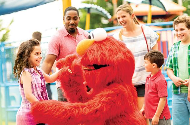 Sesame Place Elmo
