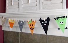 halloween banner diy